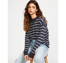 RVCA Tristan Striped Sweater - Ink