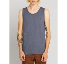 Volcom Solid Heather Tank - Indigo