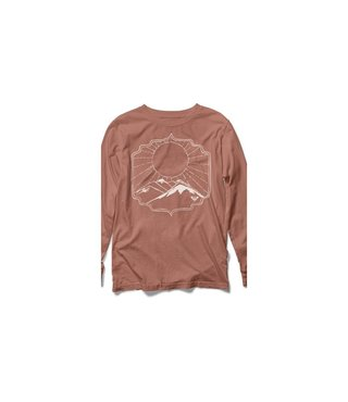 Roxy Happy Trail Vintage Long Sleeve T-Shirt - Cedar Wood