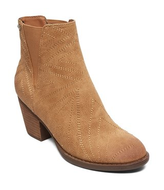 Roxy Randall Heeled Boots - Tan