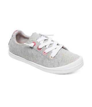 Roxy Girl's 7-14 Bayshore Shoes - Grey Heather