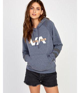RVCA Va Bar Pullover Hoodie - Navy