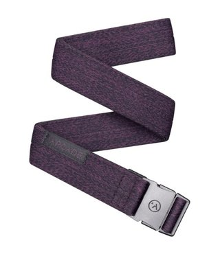Arcade Ranger Slim Belt - Heather Wine
