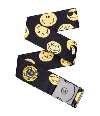 Arcade Rambler Belt - Black/Smiley Face