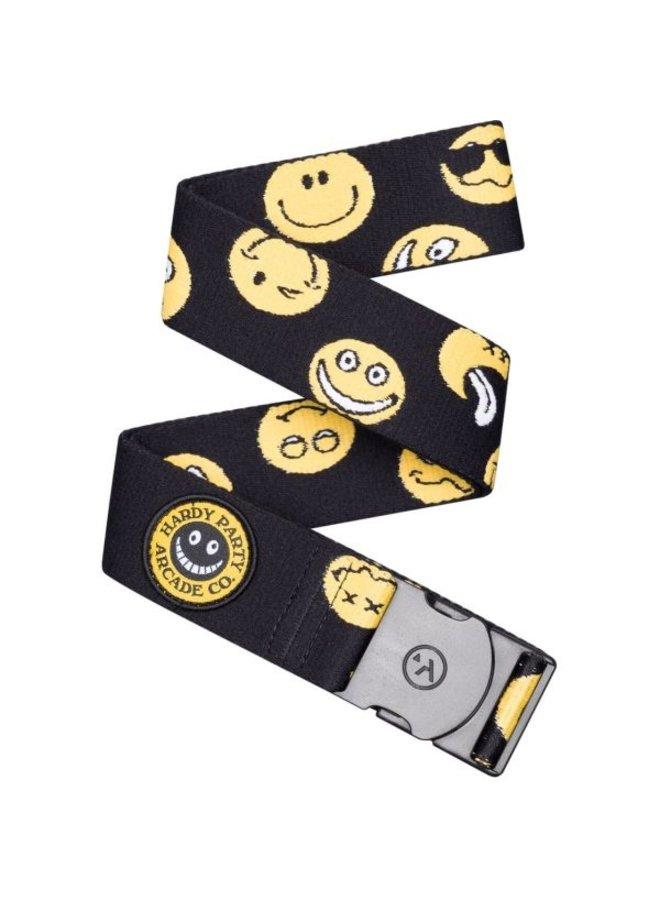 Arcade Rambler Belt - Black/Smiley Face