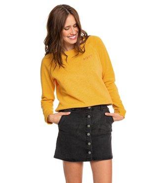 Roxy Wild Young Spirit Denim Skirt - Anthracite