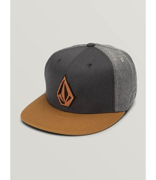 Volcom Stone Stack Jfit Hat - Rust