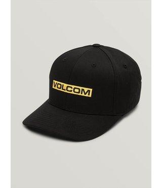 Volcom Euro Mark Xfit Hat - Black