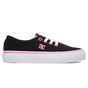 DC Kid's Trase TX Shoes - Black/Pink