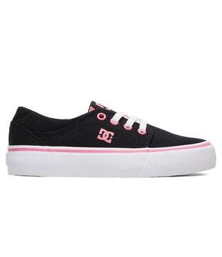 DC Kid's Trase TX Shoes - Black/Pink