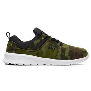 DC Kid's Heathrow TX SE Shoes - Camo Black