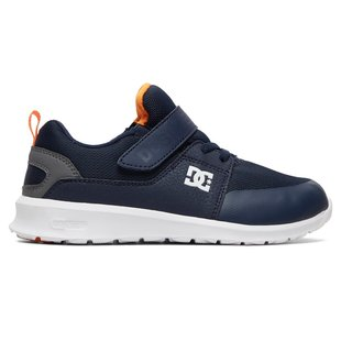 DC Kid's Heathrow Prestige EV Shoes - Navy/Grey