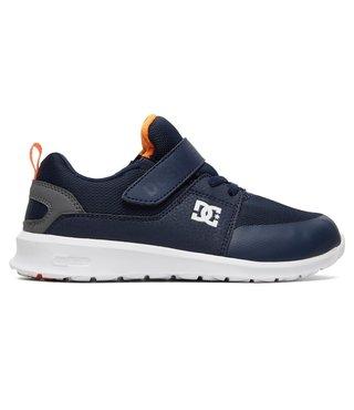 DC Kid's Heathrow Prestige EV Shoes - Navy/Grey