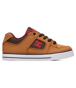 DC Kid's Pure SE Shoes - Wheat