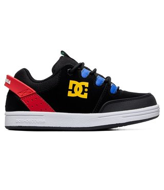 DC Kid's Syntax Shoes - Black/Red/Yellow