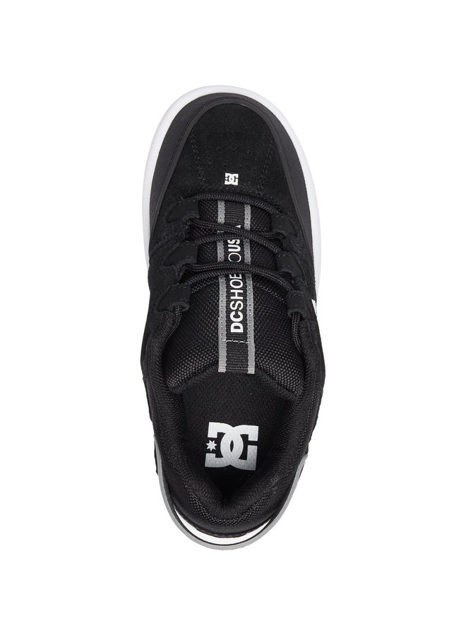 DC Kid's Syntax Shoes - Black/Grey