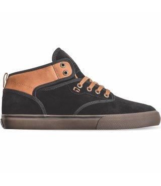 Globe Motley Mid Skate Shoes - Black/Toffee