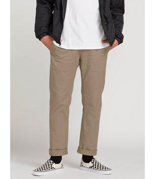 Volcom Frickin Modern Stretch Chino Pants - Khaki