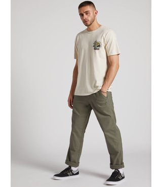 Volcom Nailer Canvas Pants - Army Green Combo