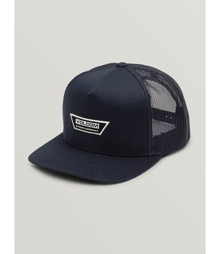Volcom Trapezoid Cheese Hat - Navy
