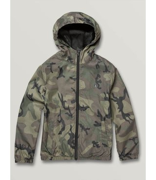 Volcom Big Boys Ermont Light Jacket - Camo