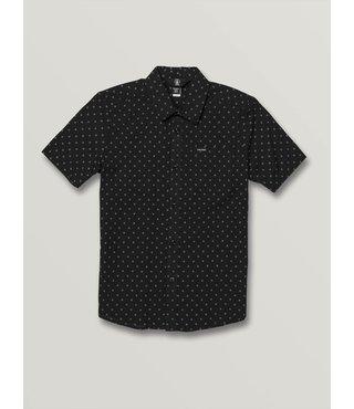 Volcom Big Boys Newmark Short Sleeve - Black