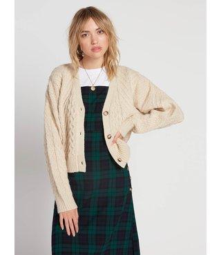 Volcom Bettergetter Sweater - Cream