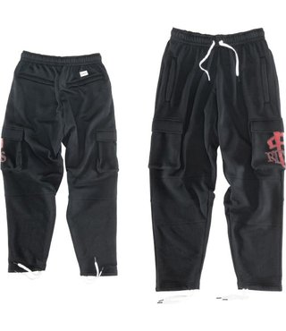RDS Sweatpant OG Low Res Cargo - Black/Red