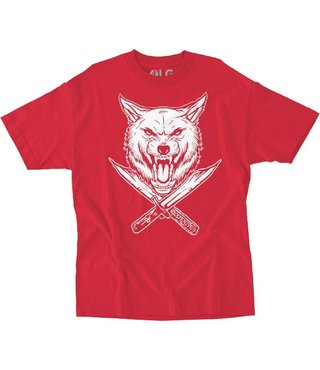 RDS x Wolfknives Wolf T-Shirt - Red