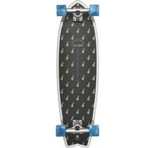"""Globe Chromantic Black Pineapple Bamboo 33"""" Cruiser Complete Skateboard"""