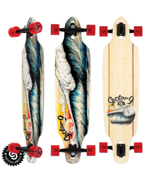 "Sector 9 Macking Mini Lookout 37.5"" Longboard Complete"