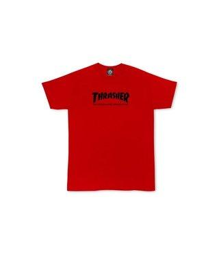 Thrasher Toddler Skate Mag Tee - Red