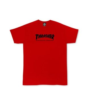 Thrasher Youth Skate Mag Tee - Red