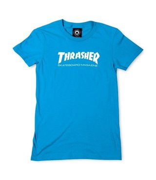 Thrasher Girls Skate Mag Tee - Teal