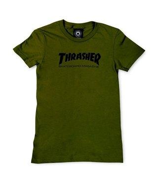 Thrasher Girls Skate Mag Tee - Green