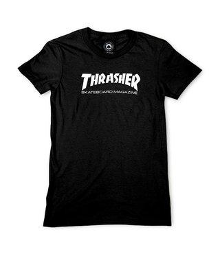 Thrasher Girls Skate Mag Tee - Black