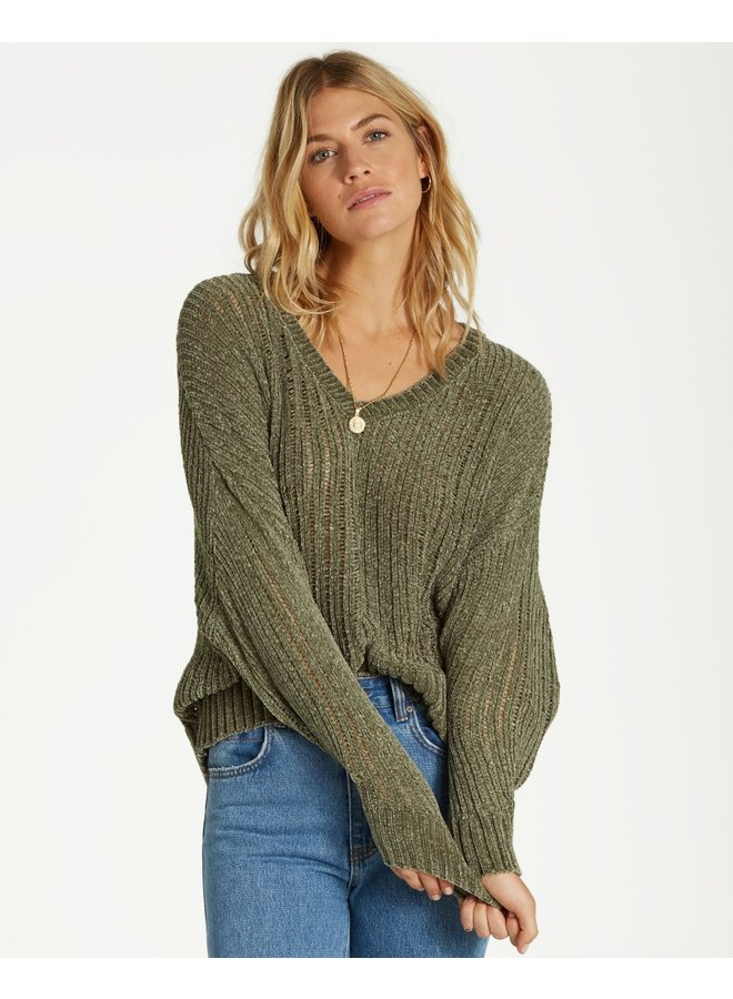 Billabong Higher Ground Sweater - Sage