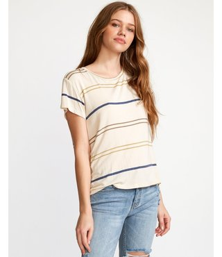 RVCA Recess 2 Knit T-Shirt - Oatmeal