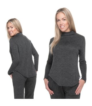 RDS Women's Turtleneck Crush - Charcoal