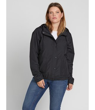 Volcom Enemy Stone Jacket Plus Size - Black