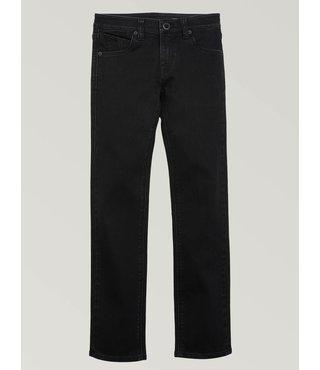 Volcom Big Boys Vorta Slim Fit Jeans - Blackout