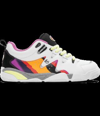 Symbol Skate Shoes - White/Purple