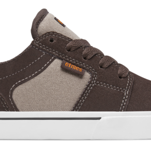 Etnies Kids Barge LS Shoes - Brown/Tan