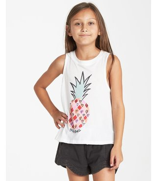 Billabong Girls' I Love Pineapples Tank - Cool Wip