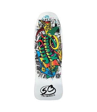 "Santa Cruz Jeff Kendall Graffiti Reissue 9.69 x 29.85"" Skateboard Deck"