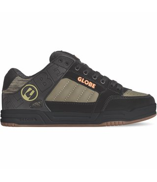 Globe Tilt Skate Shoes - Black/Olive Knit