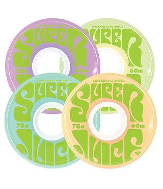60mm Super Juice Pastel Mix 78a OJ Skateboard Wheels