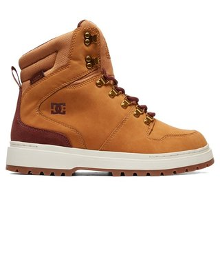 DC Peary Leather Boots - Wheat