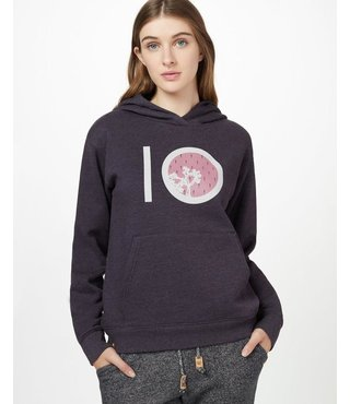 Ten Tree Women's Barrel Hoodie - Aubergine