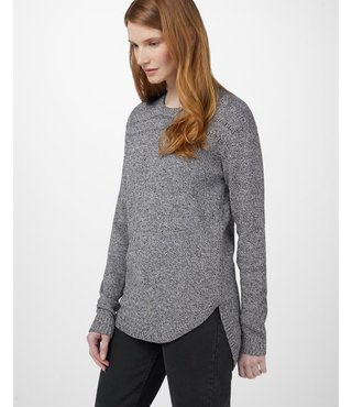Ten Tree Women's Forever After Sweater - Black/White Marled